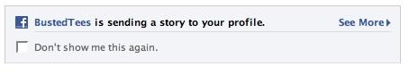 Facebook Beacon: NewsFeed Notification (1)