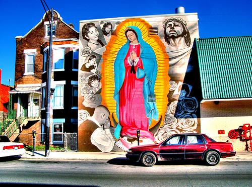 Virgen de Guadalupe Mural