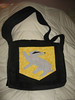 Hufflepuff bag for delana - back