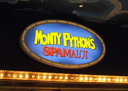 Spamalot Las Vegas