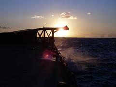 金谷の夕日