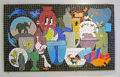 A Mosaic for the Glass Museum (bryanilona) Tags: mosaic soe kingswinford mywinners abigfave isawyoufirst irresistiblebeauty superbmasterpiece diamondclassphotographer coloursplosion goldstaraward clevercreativecaptures funfanphotos glassexhibits broadfieldhouseglassmuseum