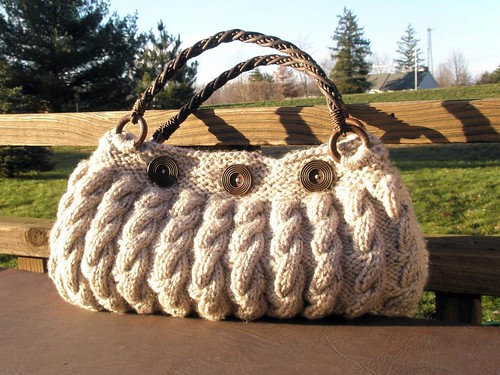 Slouchy purse