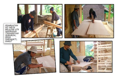 pembuatan meja belajar
