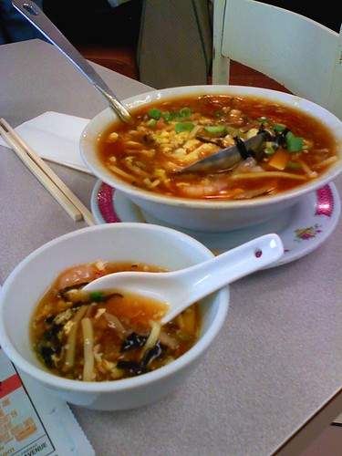 My favourite hot & sour soup