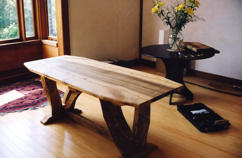 California Bay Laurel Dining Table