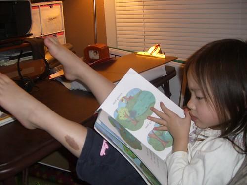 Skyler reading