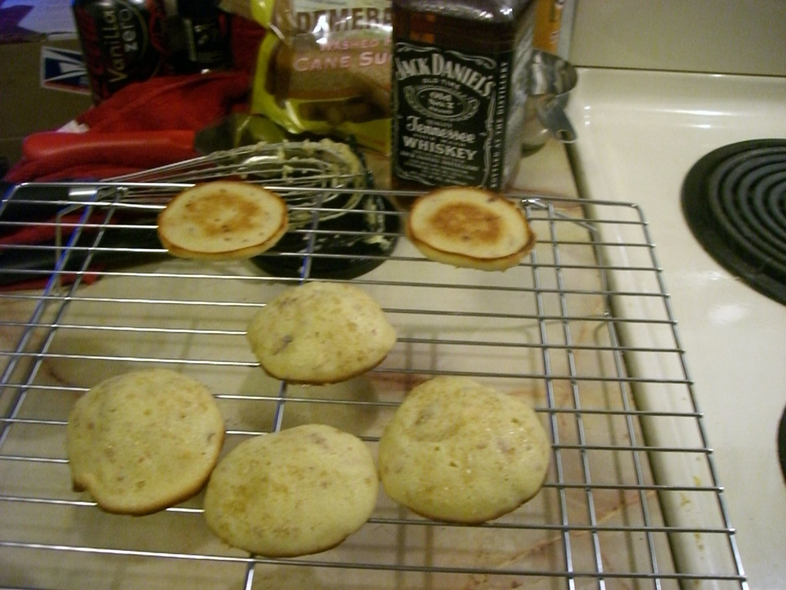 Whiskey Cookies