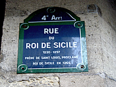 Il y a de la vie après 70 ans: Rue du roi de Sicile, Paris