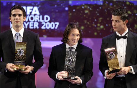 Cristiano Ronaldo Fifa World Player 2007