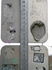 suk seattle 08_21 (graffiti_suk) Tags: seattle street art graffiti sticker fine illustrations drawings tags pop bombs suk chickenkid starheadboy