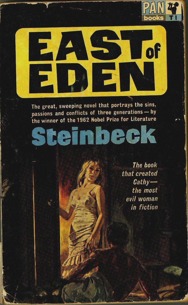 East of Eden by John Steinbeck, book cover.