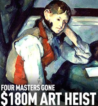 Art Heist Cezanne