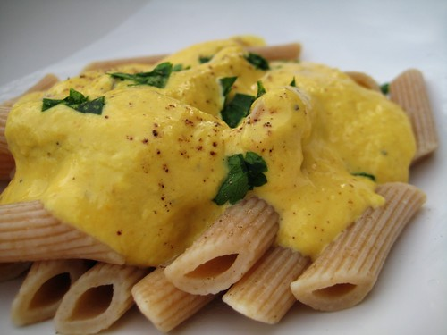 roasted yellow pepper sauce