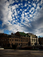 Flowers in the sky (applewei) Tags: sky beautiful norway clouds canon wonderful norge cool europa europe cityscape powershot scandinavia wei himmelen skyer lesund byen aalesund sentrum aplusphoto s5is applewei