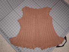 Flouncy vest for Jilian.