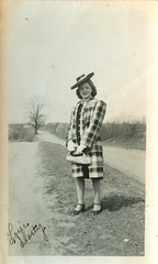love shorty (signs and wonders) Tags: blackandwhite vintage found hats retro 1940s snapshots fleamarket hairstyles foundphotos vintagehats vintagepurse