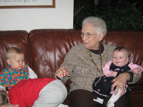 Mimi & Great grandkids - take 5