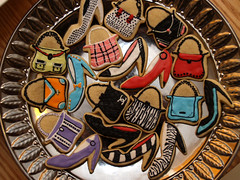 Purses & Pumps, #2 (nikkicookiebaker) Tags: highheels handbags purses decoratedcookies