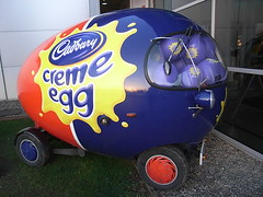 What I hope the Easter Bunny brings me this year (Sam the sham and the photos) Tags: car cadbury cremeegg
