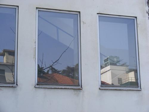 finestra riflessi