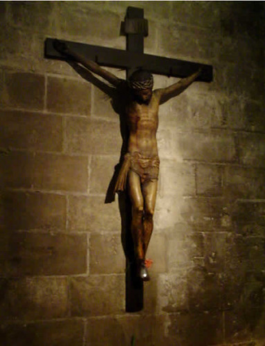Crucifijo del antiguo gremio de los hortelanos de Palma