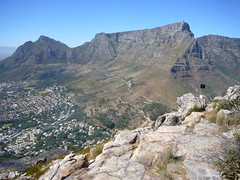 Table Mountain seen from Lion's Head