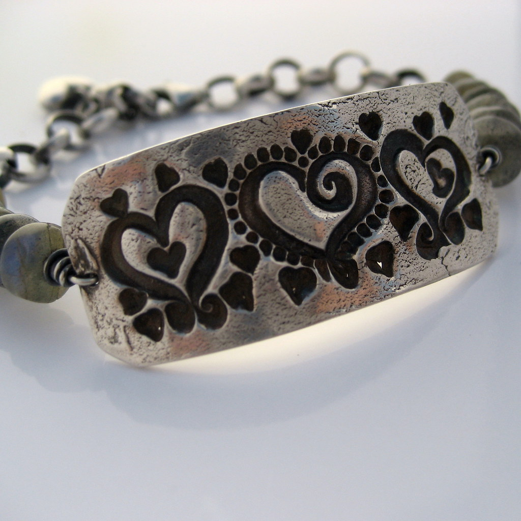 True Romantic Fine Silver Bracelet