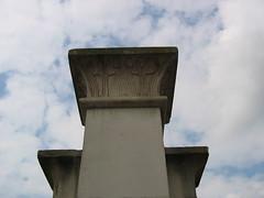 Abney Park Cemetery (Zigs1) Tags: gates egyptian hackney stokenewington mainentrance abneyparkcemetery stokenewingtonhighstreet josephbonomi egyptianstyle postedbyzigs1 zigs1 egyptinlondon josephbonomijunior