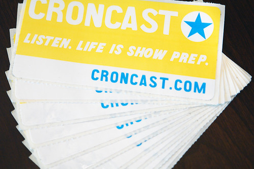 Croncast Stickers