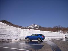 酸ヶ湯公共駐車場あたり (1)