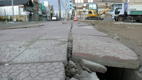 新潟中越地震の跡は今も
