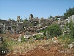 Mjlia site's byzantine ruins