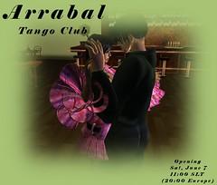 Arrabal Tango Club (Ludmilla Writer) Tags: friends fiesta sl secondlife posters windlight ludmilla arrabal zonja zonjacapalini ludmillawriter faviopiek