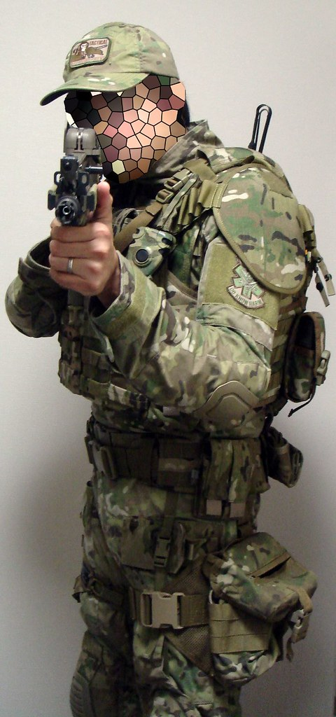 Airsoft Loadout MulticamAirsoft Loadout Multicam