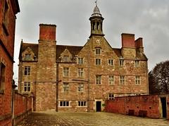 DSC_0005 (steveshaw67) Tags: rufford abbey old clock brick nottinghamshire united kingdom