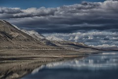 always time to reflect... (Alvin Harp) Tags: hss happyslidersunday walkerlake nevada reflections snowcappedmountains sonyilce7rm2 fe24240mm 2017 january winterclouds alvinharp colorefexpro lightroomcc