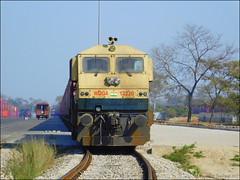 LKO WDG-4 #12220 - Indian Railways !!