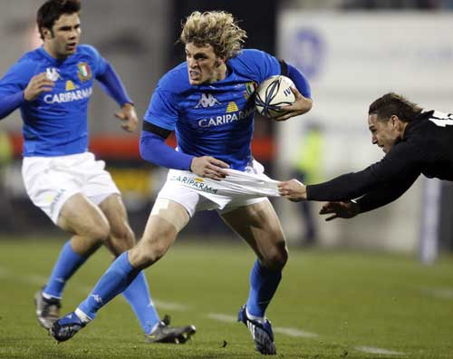 Bergamirco contro gli All Blacks