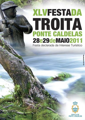 Ponte Caldelas 2011 - Festa da Troita - cartel