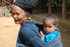 Grandmother and grandson (Noel Molony) Tags: family children rice health stories waterpumps healthcentre monvillage concernstaff educationonhealth hamkongvillage haumeuangdistrict pakhataivillage pasortvillage salongvillage salorvillage samhouay sopkhamvillage tarkaivillage thathvillage