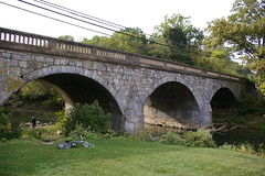 Stone arch bridge, Antietam Creek, Funkstown, Maryland
