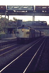 EMD FL-9 In the Bronx (brooklynparrot) Tags: nyc pc pennsylvania trains nh newhaven 1970s railroads prr penncentral newyorkcentral