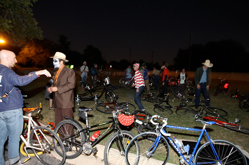 Wheres Waldo?  - Halloween Bike Gang Summit - San Antonio TX
