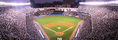 Yankee Stadium (Kristin&Joe) Tags: nyc newyorkcity panorama facade thebronx yankeestadium newyorkyankees mlb pinstripes americanleague bronxbombers majorleaguebaseball 161ststreet baseballstadiums riveravenue aleast thehousethatruthbuilt