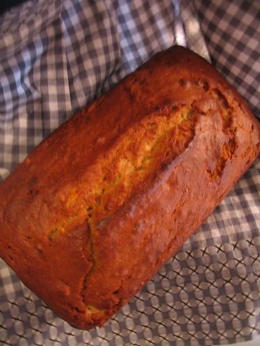 Slightly overbaked loaf...