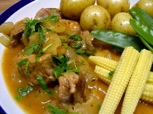 Somerset pork casserole