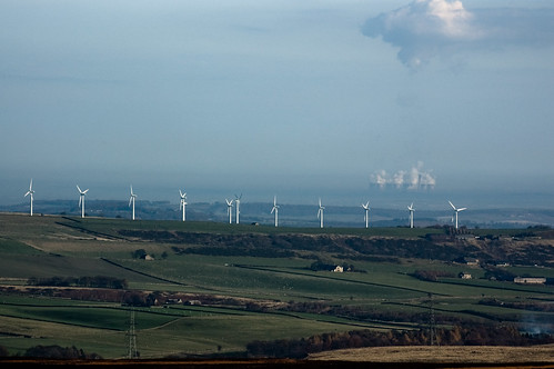 power juxtaposition globalwarming nimby woodheadpass cloudmaker roydmoorwindfarm eggboroughpowerstation crowedge