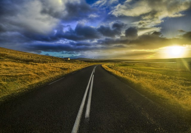 The Open Road high dynamic range HDR Photography inspiration and tutorial in Photoshop