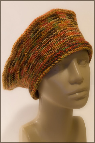 Wedge Hat, Warm Colorway